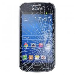 Forfait Réparation Vitre Tactile ORIGINALE Noire + Adhésifs - SAMSUNG Galaxy TREND LITE - S7390