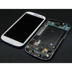 Bloc Avant Blanc ORIGINAL - SAMSUNG Galaxy S3 i9305