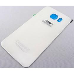 Vitre Arrière - Cache Batterie Blanc ORIGINAL - SAMSUNG Galaxy S6 G920F