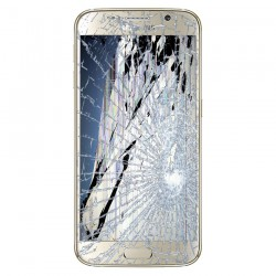 [Réparation] Bloc Avant ORIGINAL Or - SAMSUNG Galaxy S6 - G920F