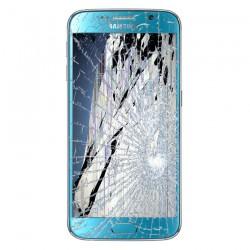 [Réparation] Bloc Avant ORIGINAL Bleu - SAMSUNG Galaxy S6 - G920F