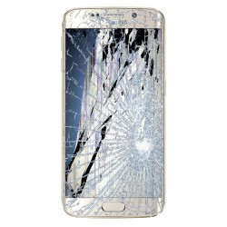 [Réparation] Bloc Avant ORIGINAL Or - SAMSUNG Galaxy S6 Edge - G925F
