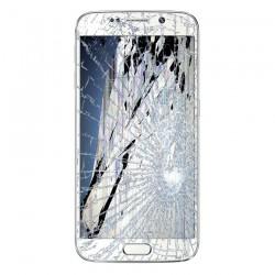 [Réparation] Bloc Avant ORIGINAL Blanc - SAMSUNG Galaxy S6 Edge - G925F