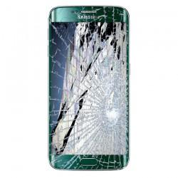 [Réparation] Bloc Avant ORIGINAL Vert - SAMSUNG Galaxy S6 Edge - G925F