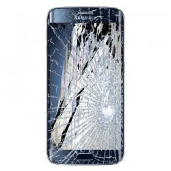 [Réparation] Bloc Avant ORIGINAL Bleu / Noir - SAMSUNG Galaxy S6 Edge - G925F