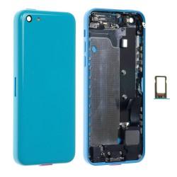 Châssis / Coque Arrière Bleue - iPhone 5C
