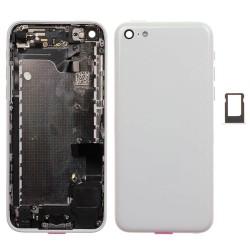 Châssis / Coque Arrière Blanche - iPhone 5C