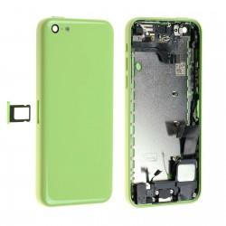 Châssis / Coque Arrière Verte - iPhone 5C