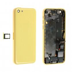 Châssis / Coque Arrière Jaune - iPhone 5C