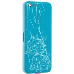 Réparation Châssis / Coque Arrière Bleue - iPhone 5C