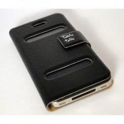 Etui Table Talk NOIR - iPhone 4 / 4S