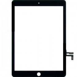 Vitre Tactile ORIGINALE NOIRE + Adhésifs - iPad 5 / Air