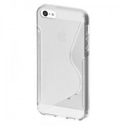 Coque Silicone S-Line Transparente - iPhone 5 / 5S