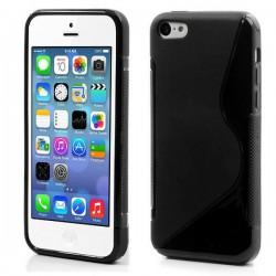 Coque Silicone S-Line NOIRE - iPhone 5 / 5S