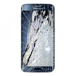 [Réparation] Bloc Avant ORIGINAL Bleu / Noir - SAMSUNG Galaxy S6 Edge Plus - G928F