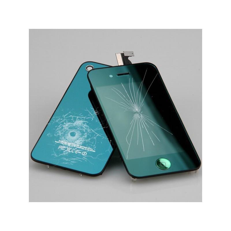 R paration kit vert miroir bloc avant compatible vitre for Reparation miroir