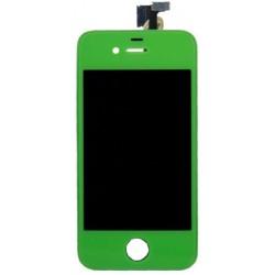 Bloc Avant Compatible Vert - iPhone 4