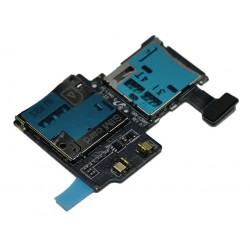 Lecteur Carte SIM / Carte Mémoire ORIGINAL - SAMSUNG Galaxy S4 LTE i9506