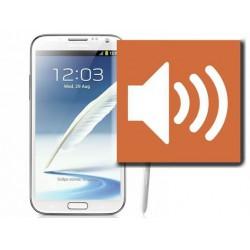 [Réparation] Haut-Parleur Complet Blanc ORIGINAL - SAMSUNG Galaxy NOTE 2 - N7100