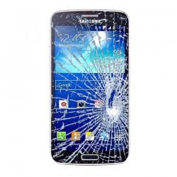 [Réparation] Vitre Tactile ORIGINALE Bleue + Adhésifs - SAMSUNG Galaxy GRAND 2 - G7105