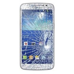 [Réparation] Vitre Tactile ORIGINALE Blanche + Adhésifs - SAMSUNG Galaxy GRAND 2 - G7105