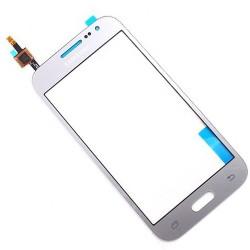 Vitre Tactile ORIGINALE Argent + Adhésifs - SAMSUNG Galaxy CORE Prime - G360F