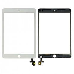 Vitre Tactile ORIGINALE Blanche + Adhésifs - iPad Mini 3