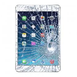 [Réparation] Vitre Tactile ORIGINALE Blanche + Adhésifs - iPad Mini 3