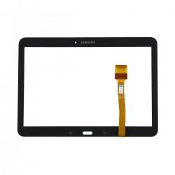 Vitre Tactile Noire + Adhésifs - SAMSUNG Galaxy TAB 4 10.1 - T530 / T535