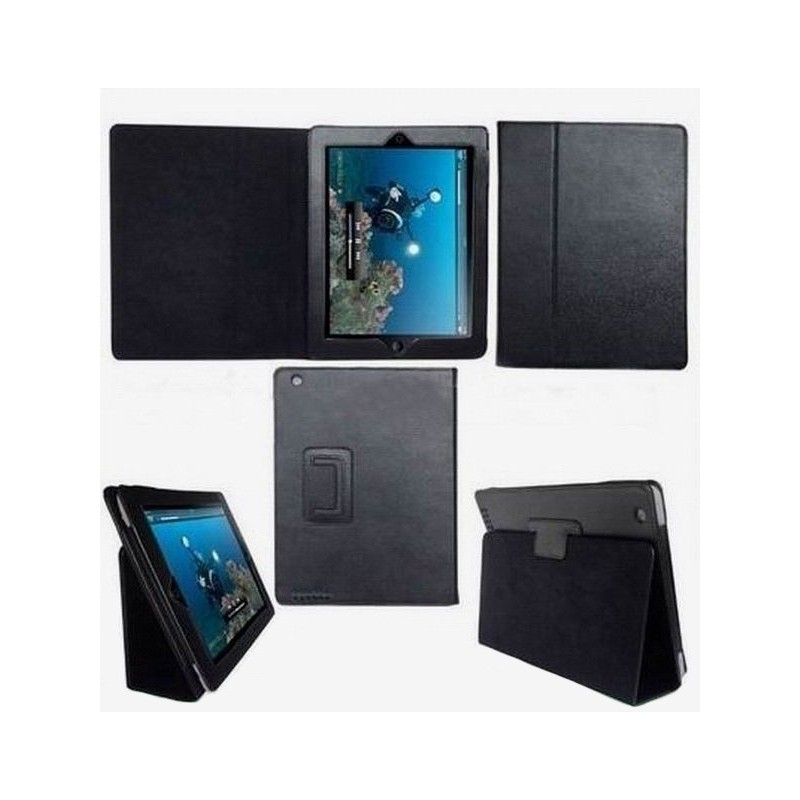 Housse de protection noire ipad 2 3 4 for Housse protection ipad
