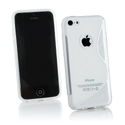 Coque Silicone S-Line Transparente - iPhone 5C