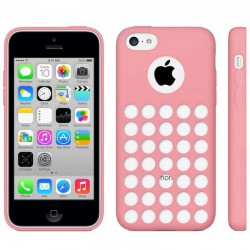 Coque Silicone Rose - iPhone 5C