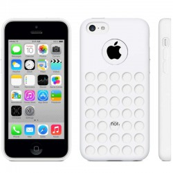 Coque Silicone Blanche - iPhone 5C