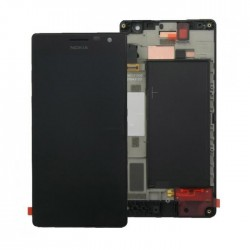 Bloc Avant ORIGINAL Noir - NOKIA Lumia 730 / 735