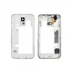Châssis Central / Contour ORIGINAL Blanc - SAMSUNG Galaxy S5 - G900F / G901F