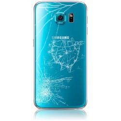Forfait Réparation Vitre Arrière ORIGINALE Bleue - SAMSUNG Galaxy S6 - G920F