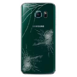 Forfait Réparation Cache Batterie Vert ORIGINAL - SAMSUNG Galaxy S6 Edge G925F