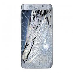 [Réparation] Bloc Avant ORIGINAL Gris - SAMSUNG Galaxy S6 Edge Plus - G928F