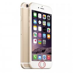 [Réparation] Nappe de Bouton HOME Blanc / Or ORIGINALE - iPhone 6S