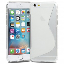 Coque Silicone S-Line Transparente - iPhone 6 / 6S