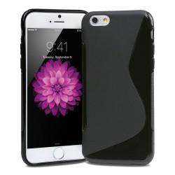 Coque Silicone S-Line NOIRE - iPhone 6 Plus / 6S Plus