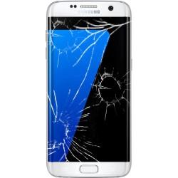 [Réparation] Bloc Avant ORIGINAL Blanc - SAMSUNG Galaxy S7 Edge - G935F