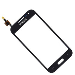 Vitre Tactile ORIGINALE Grise Foncée + Adhésifs - SAMSUNG Galaxy CORE Prime VE - G361F