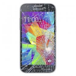 [Réparation] Vitre Tactile ORIGINALE Grise Foncée + Adhésifs - SAMSUNG Galaxy CORE Prime VE - G361F