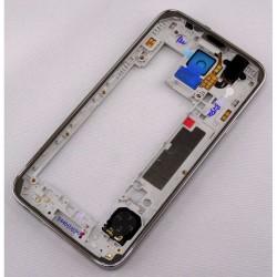 Châssis Central / Contour ORIGINAL Noir - SAMSUNG Galaxy S5 - G900F / G901F