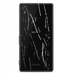 [Réparation] Vitre Arrière ORIGINALE Noire - SONY Xperia M4 Aqua