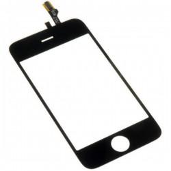Vitre Tactile ORIGINALE Noire + Adhésifs - iPhone 3G