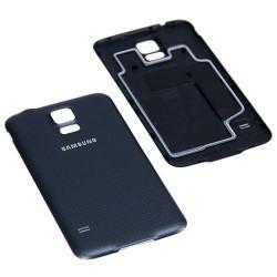 Coque Arrière / Cache Batterie ORIGINAL Noir - SAMSUNG Galaxy S5 - G900F / G901F