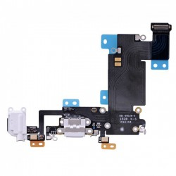 Connecteur de Charge ORIGINAL Blanc - iPhone 6S Plus Or / Or Rose
