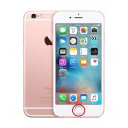 [Réparation] Nappe de Bouton HOME Blanc / Or Rose ORIGINALE - iPhone 6S